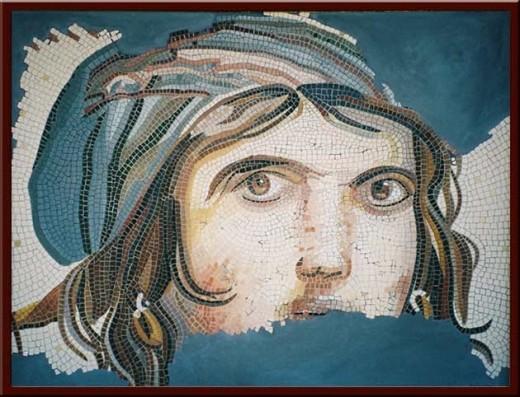 Çingene Kadın (Maenad Dancing in Ecstacy) 100X130 cm - 2003