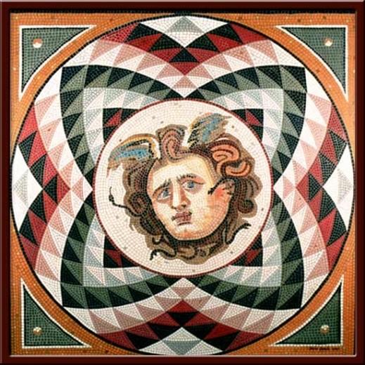 Medusa (Medusa the Mortal of the Gorgones) 110X110 cm - 2003