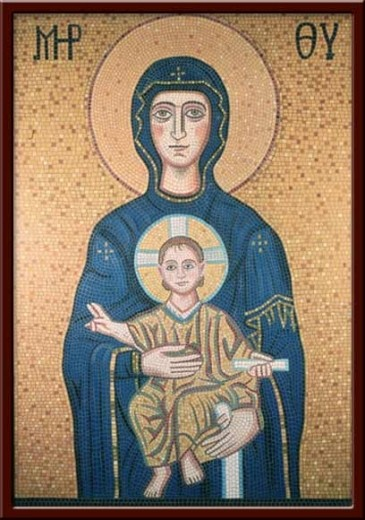 Meryem ve Çocuk İsa (Madonna and the infant Christ) 100X130 cm - 2003