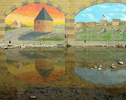 Çoruh Nehri Duvar Resimleri - Bayburt