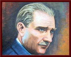 M.K.Atatürk - 45x60 cm 2010