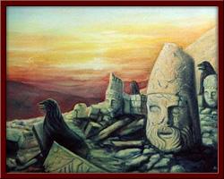 Nemrut Dağı 50X70 cm - 1999