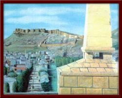 Şair Zihni Anıtı ve Bayburt 150X100 cm - 1997