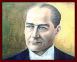 Reis-i Cumhur Atatürk 50X70 cm - 1998