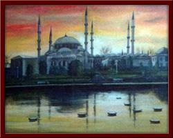 Sultan Ahmet Camii 100X50 cm - 1998