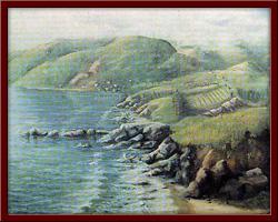 Batı Karadeniz Kıyıları 75X120 cm - 1999