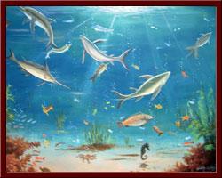 Akvaryum - 50x70 cm 2010