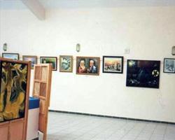 Fatih Üniversitesi'ndeki sergiden bir kare.