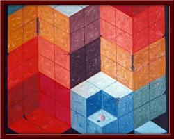Defolu Simetri 70X90 cm - 1996