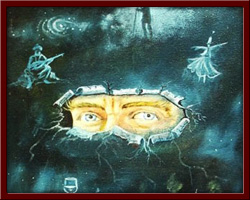Biri Bizi Gözetliyor - 50x70 cm 2002
