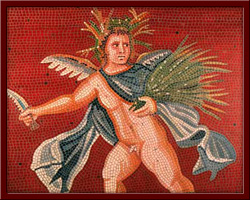 Yaz Mevsimi Tanrısı (The Summer Goddess) 110X110 cm - 2003