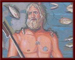 Okyanus (Okeanos) 110X110 cm - 2004