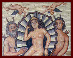 Afrodit (Aphrodite) 100X130 cm - 2003
