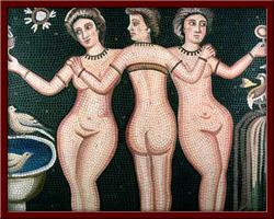 Çıplak Betimlenmiş Üç Güzeller (Three Graves in Nude) 100X135 cm   Kenneth D. McKay Kolleksiyonu,