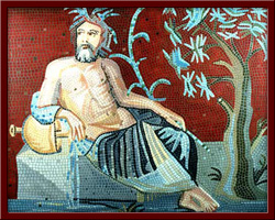 Euphrates (Euphrates, the River God) 100X130 cm - 2003