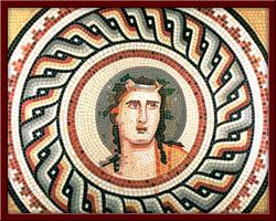 Dionysos (Dionisus, the God of Wine) 120X120 cm - 2003