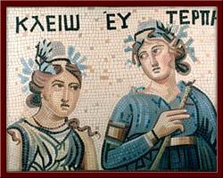 Esin Perileri (Clio and Euterpe) 100X130 cm - 2003
